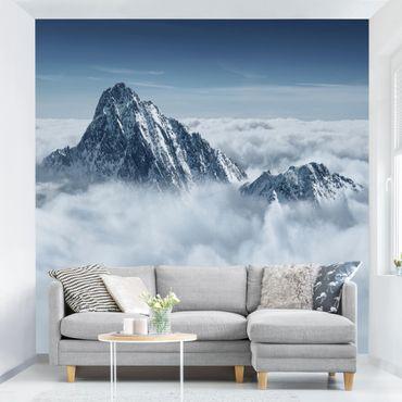 Carta da parati - The Alps above the clouds