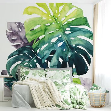 Carta da parati - Exotic Foliage - Monstera