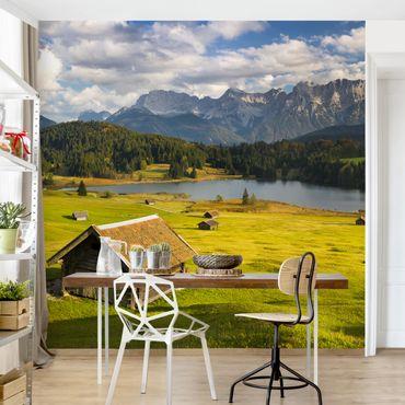 Carta da parati - Lago in alta Baviera