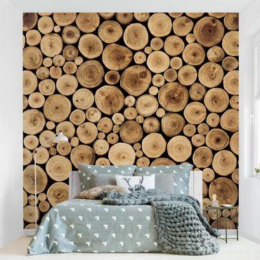 Carta da parati - Homey Firewood