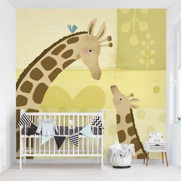 Carta da parati - Io e mia madre - Giraffa