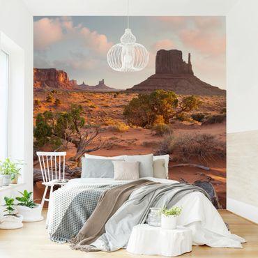 Carta da parati - Monument Valley Navajo Arizona