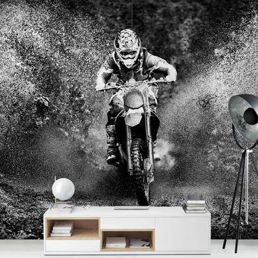 Carta da parati - Motocross nel Fango
