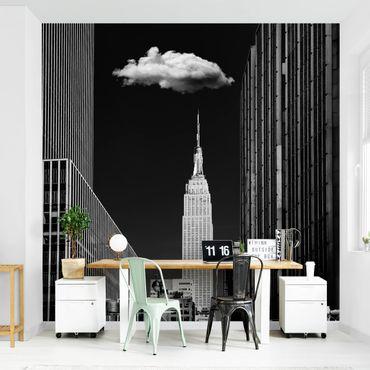 Carta da parati - New York Con nuvola