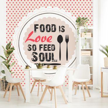 Carta da parati - No.KA27 Food Is Love