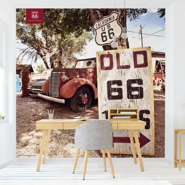 Carta da parati - Route 66 - Old Pick-Up
