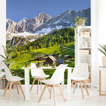 Carta da parati - Styria alpine meadow