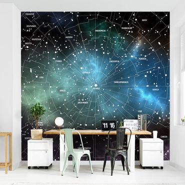 Carta da parati - Constellazioni nella galassia