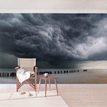 Carta da parati - Nubi di tempesta sul Mar Baltico