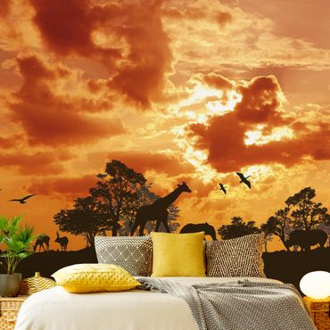 Carta da parati - Tanzania Sunset