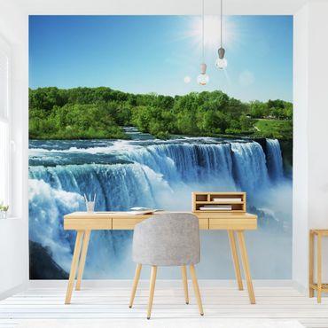 Carta da parati - Waterfall Landscape