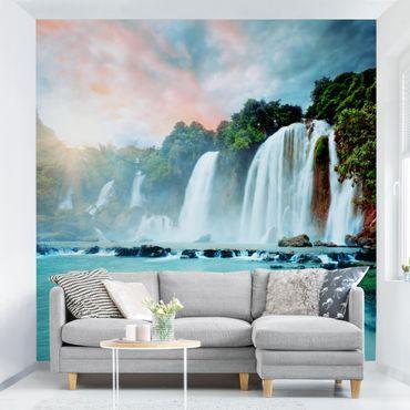 Carta da parati - Waterfalls Panorama
