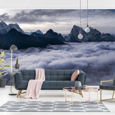 Carta da parati - Mare di nubi sull'Himalaya