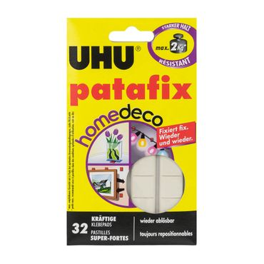 UHU Patafix gommini adesivi 32 pezzi