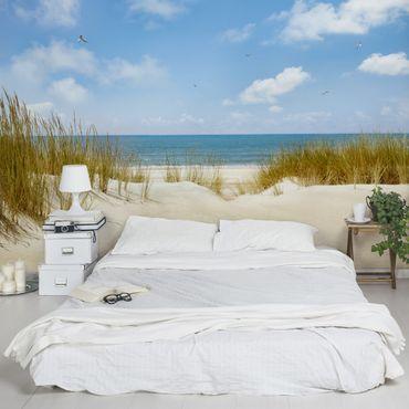 Carta da parati - Spiaggia nel Mare del Nord