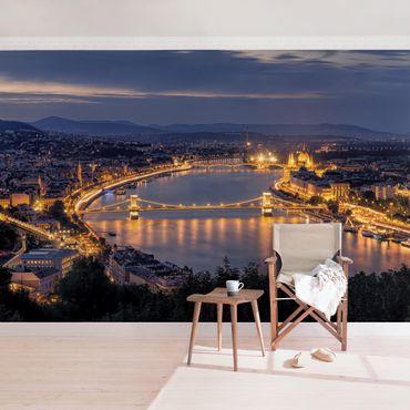 Carta da parati - Vista di Budapest