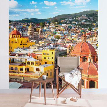 Carta da parati - Colourful houses Guanajuato