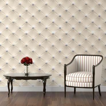 Carta da parati - Diamond cream luxury