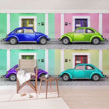 Carta da parati - Coloured beetles