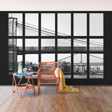Carta da parati - Window Bridge New York