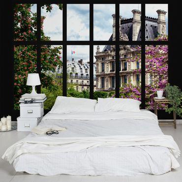 Carta da parati - Window Spring II Paris