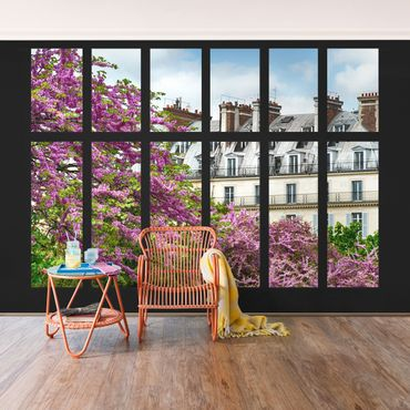 Carta da parati - Window Spring Paris