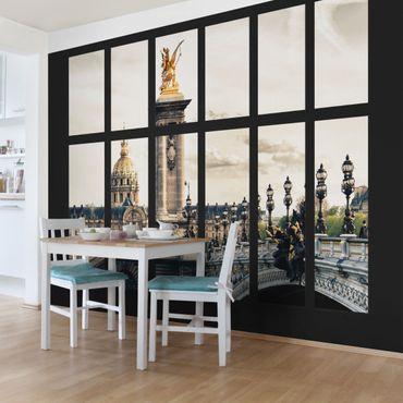 Carta da parati - Window Pont Alexandre Paris