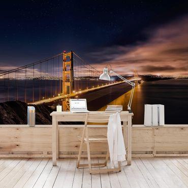 Carta da parati - Golden Gate to Stars