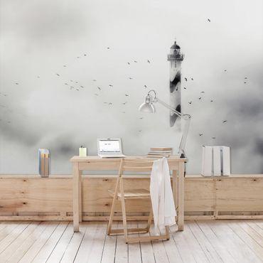 Carta da parati - Faro in Nebbia