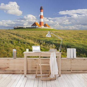 Carta da parati - Lighthouse in Schleswig-Holstein