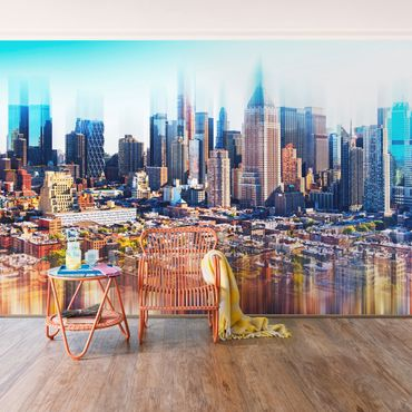 Carta da parati - Manhattan Skyline Urban Stretch