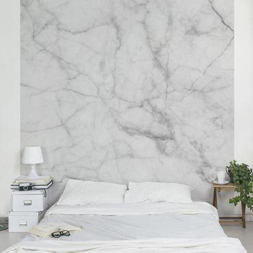 Carta da parati - Bianco Carrara