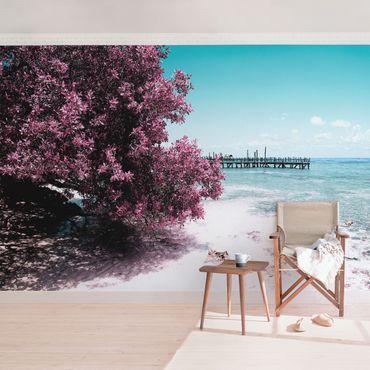 Carta da parati - Paradise Beach Isla Mujeres