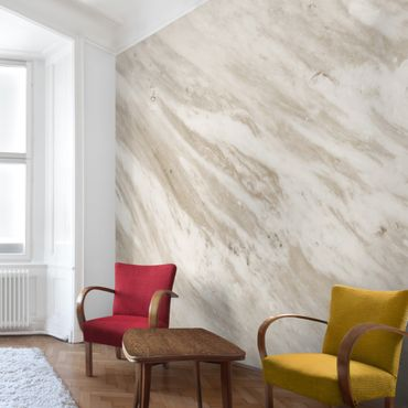 Carta da parati - Palissandro marble beige