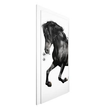Carta da parati per porte - Arabian stallion