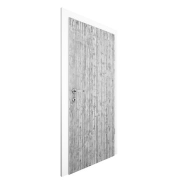 Carta da parati per porte - Concrete Wallpaper - Concrete Wall Panels