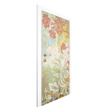Carta da parati per porte - Flowers Of Past Times