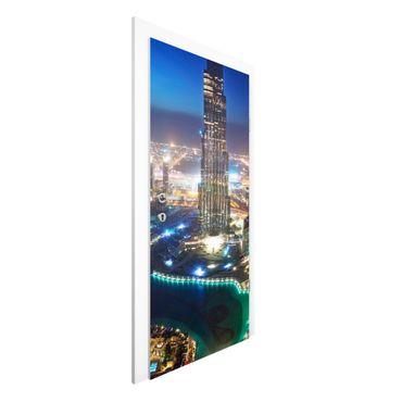 Carta da parati per porte - Dubai Marina