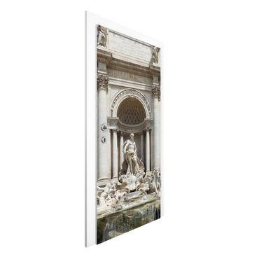 Carta da parati per porte - Fontana Di Trevi