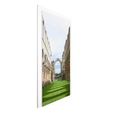 Carta da parati per porte - Fountains Abbey