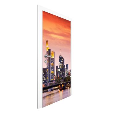 Carta da parati per porte - Frankfurt Skyline
