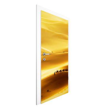 Carta da parati per porte - Golden Dunes