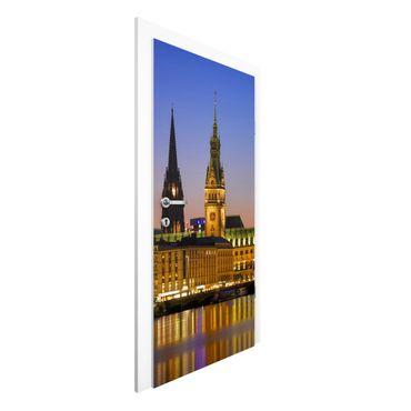 Carta da parati per porte - Hamburg Panorama