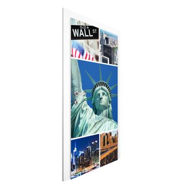Carta da parati per porte - Impressive New York