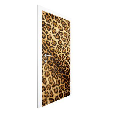 Carta da parati per porte - Jaguar Skin