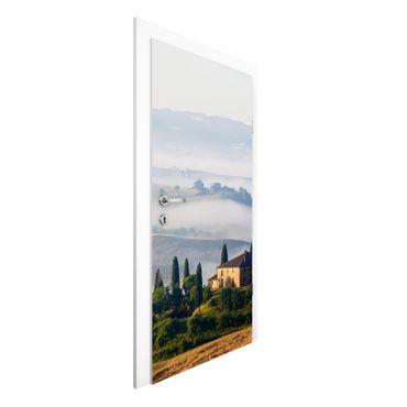 Carta da parati per porte - Manor In Tuskany