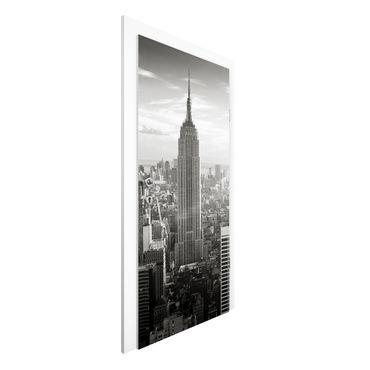 Carta da parati per porte - Manhattan Skyline