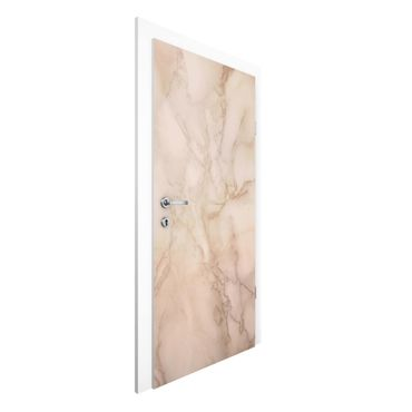 Carta da parati per porte - Marble optic gray brown