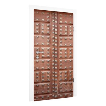 Carta da parati per porte - Moorish wooden door in Alhambra