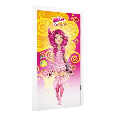 Carta da parati per porte - Mia And Me - Beautiful Pixie